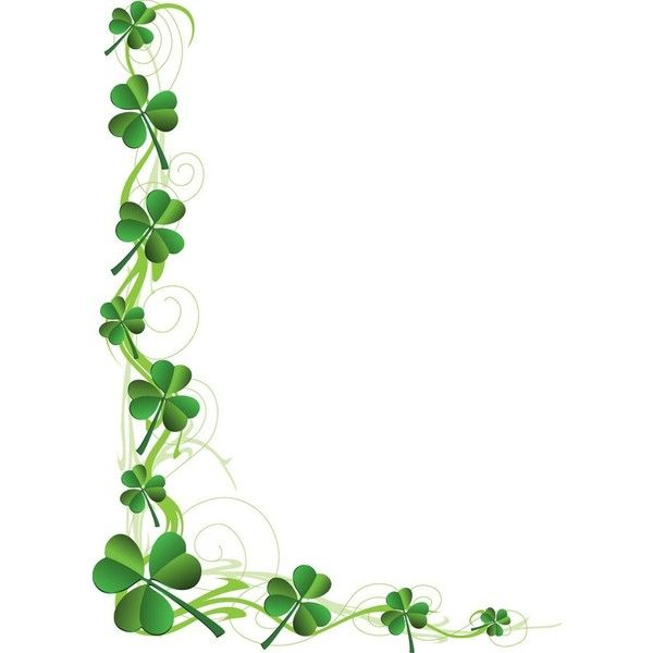 35d01fd2 Clip Art Related to St. Patrick's Day ❤ liked on Polyvore featuring  backgrounds, frames, borders, decorations, art and fillers