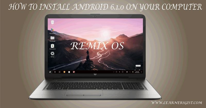how to install android games on laptop