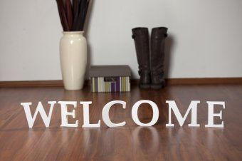 Welcome - decorate your entrance hall