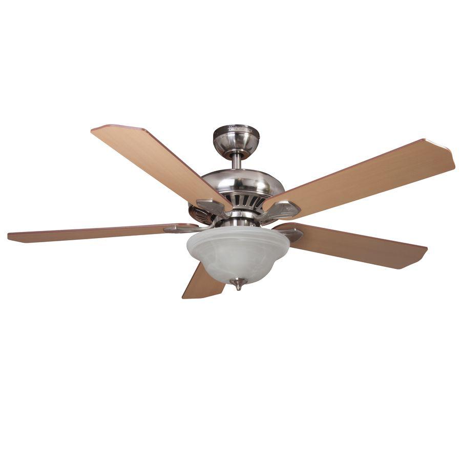 Harbor Breeze 18-in Brushed Nickel Steel Indoor Ceiling Fan Downrod