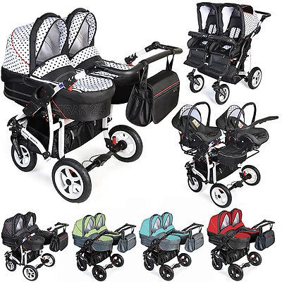 Pushchair Buggy Baby Travel Pram Stroller Single or Twin//Double