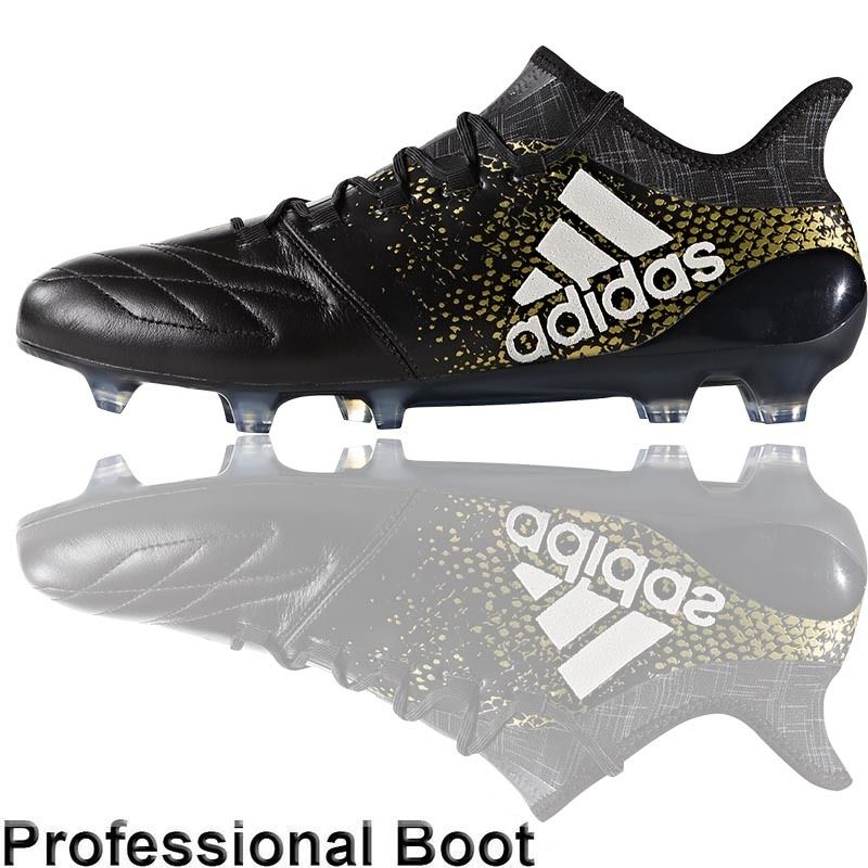 adidas x 16 1. the football nation ltd - adidas x16.1 leather boots (fg black/ x 16 1