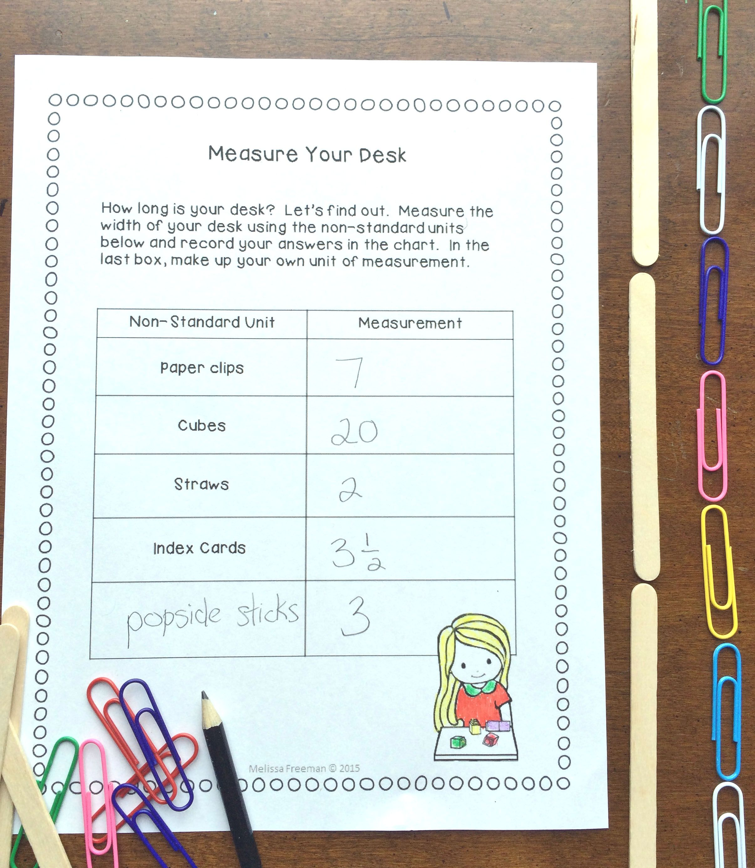This metric measurement unit for Grade 2 covers expectations about measuring length, height and width, (as well as area) from the Ontario Curriculum. It contains lesson ideas, worksheets, word wall words, task cards, a word search, and a 2-page unit test (with answer key).