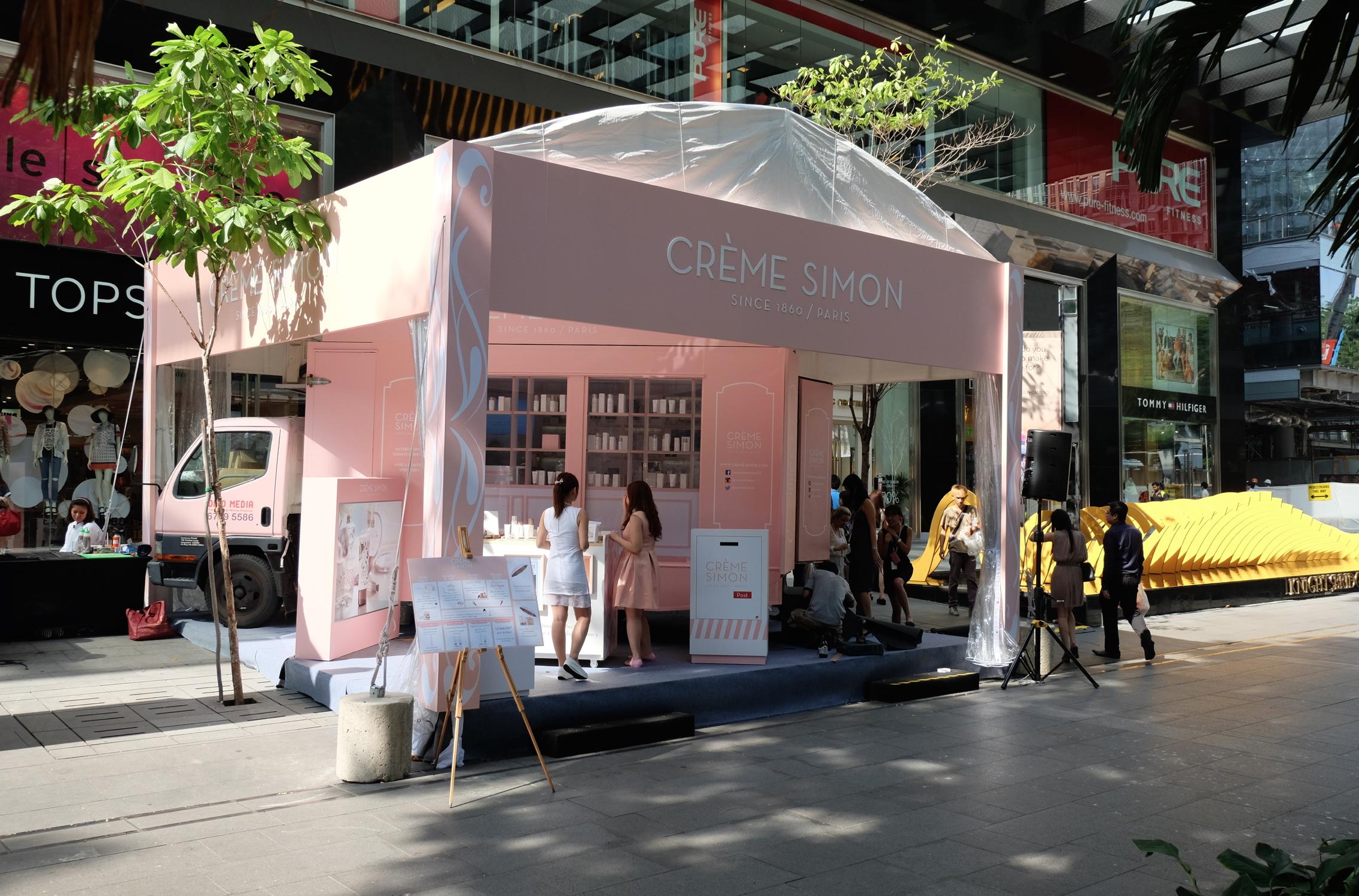 Chic Singapour pour Crème Simon