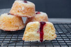Frisch aus dem Ofen { Berliner Muffins } - Saras Cupcakery