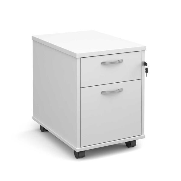 White Under Desk Drawers For The Maestro Range This Stunning Set Of
