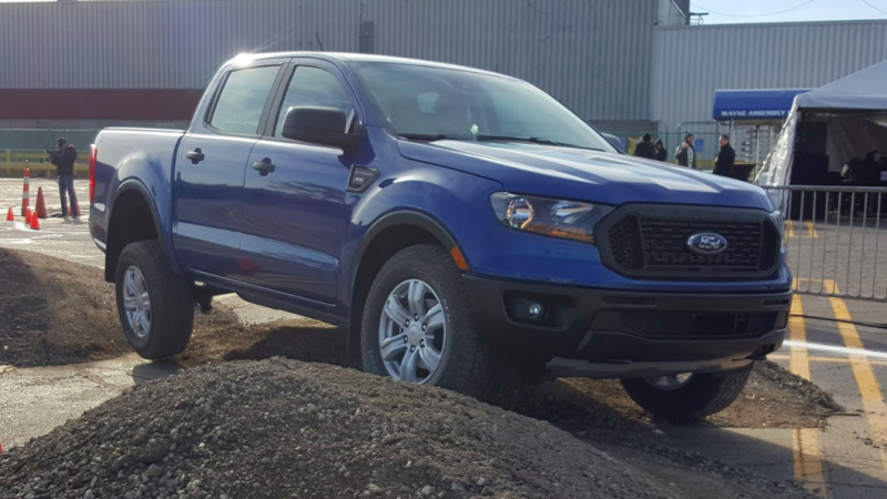 The 2019 Ford Ranger Should Put Up A Strong Off Road Fight Against