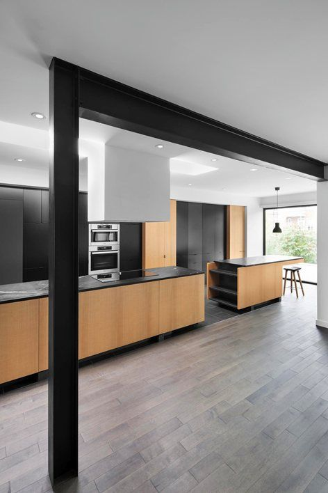 Single Family Home U201cDrolet Residenceu201d Designed By Naturehumaine Located In  Drolet Ave, Montreal, Canada.