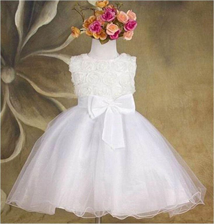 Vestido Niña Bebe 1 Año Bautizo Cumpleaños Fiesta Vestidos