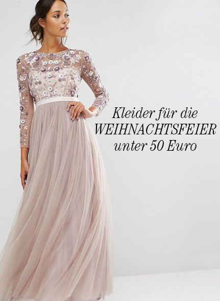 Kleider für die Weihnachtsfeier oder Weihnachten unter 50 Euro http ...