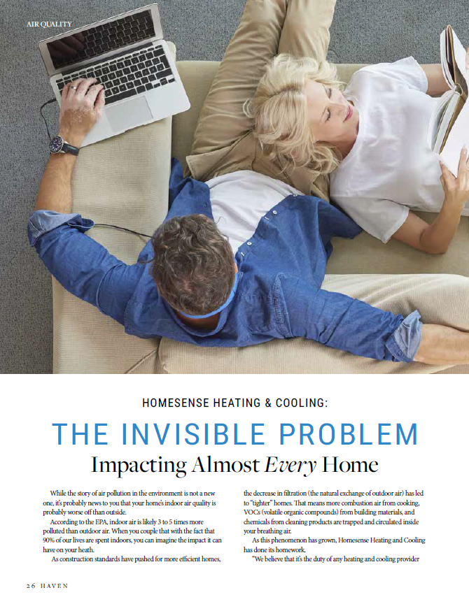 Homesense Heating Cooling The Invisible Problem Impacting