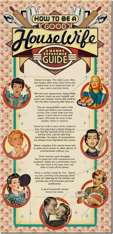 The Good Wife S Guide Customizable Poster The Good Wife S Guide Housewife Humor Retro Housewife