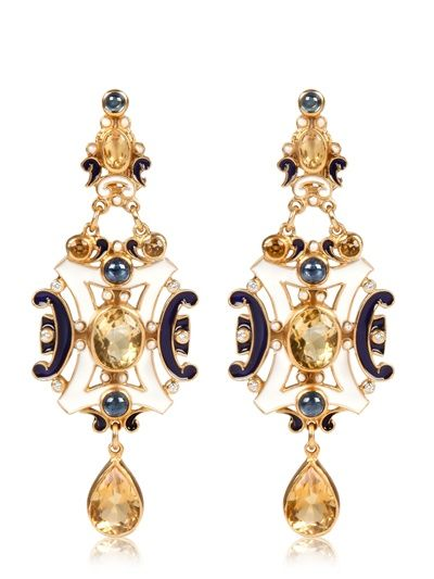 DIEGO PERCOSSI PAPI - RENAISSANCE EARRINGS