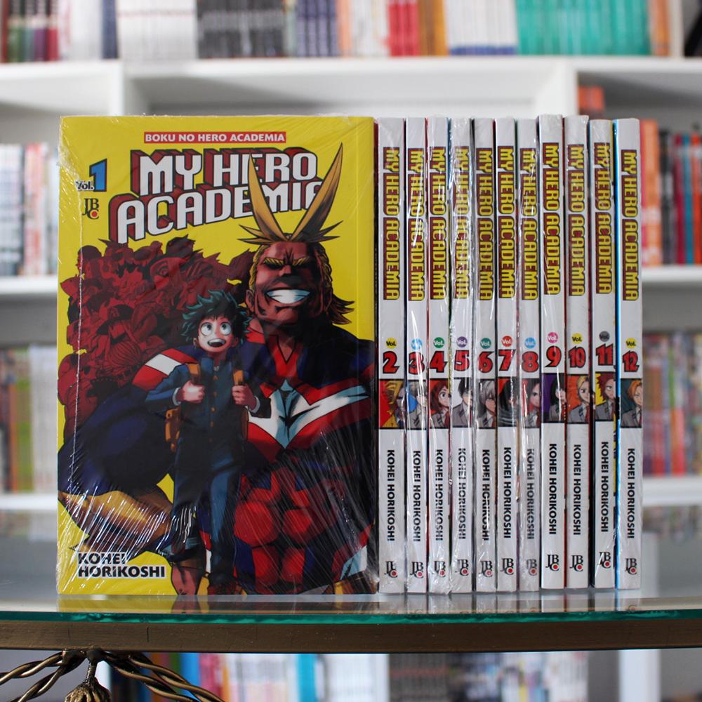Colecao Do Manga My Hero Acdemia Boku No Hero Academia Battle Angel Alita Quadrinhos E Desenhos Animados Manga