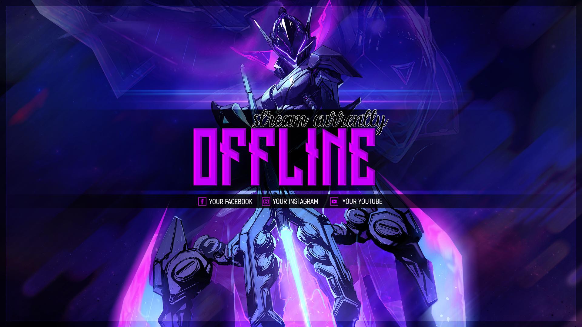 PROJECT Vayne Offline screen by Psychomilla