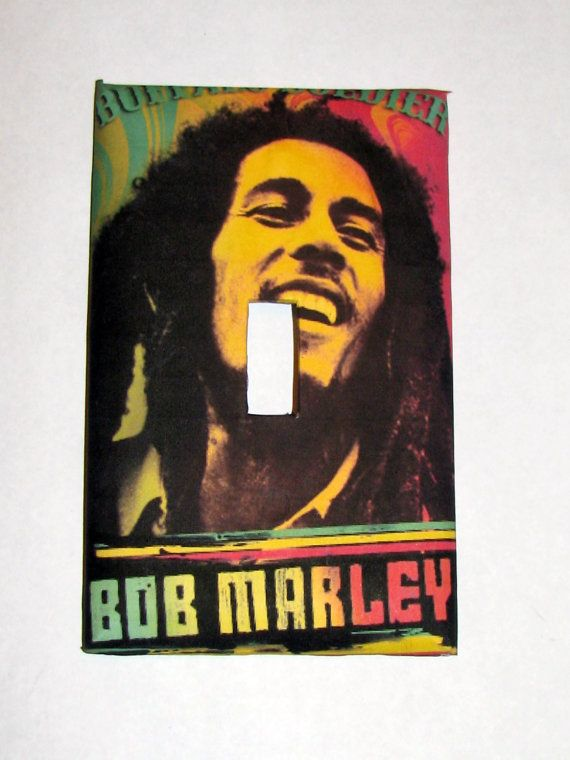 Light Switch Cover Light Switch Bob Marley Rasta by TurtleboneToo   8 00. rasta room   Dream Home   Pinterest   Love love love and Love