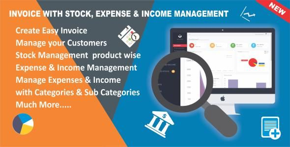 Invoice with Stock, Expense \ Income Management wptemple Pinterest - easy invoice