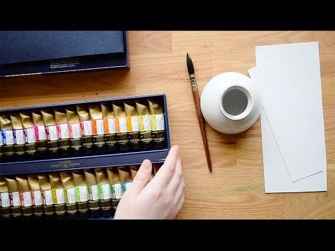 Mijello Mission Gold Watercolors Review 34 Tube Color Set