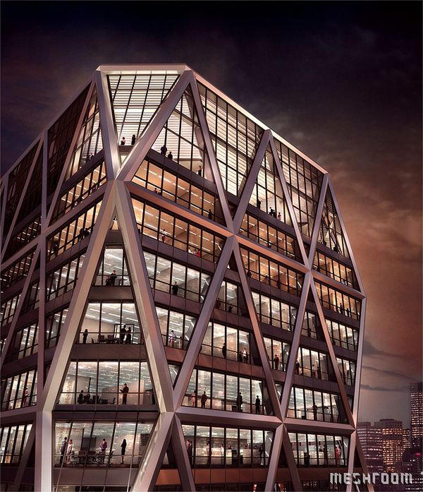 Selected Architectural Visualisations on Behance