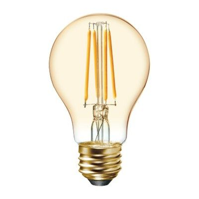 Vintage Aline 60w Filament Amber 2pk Led Light Bulb White