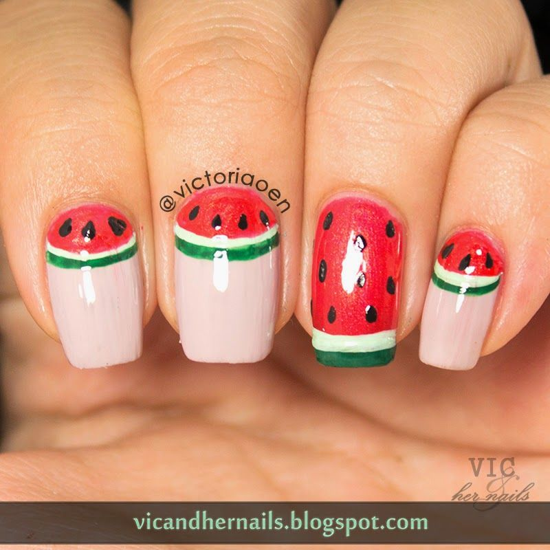 Vic and Her Nails: OMD2 Day 24 - Fruit (Catchup!!)