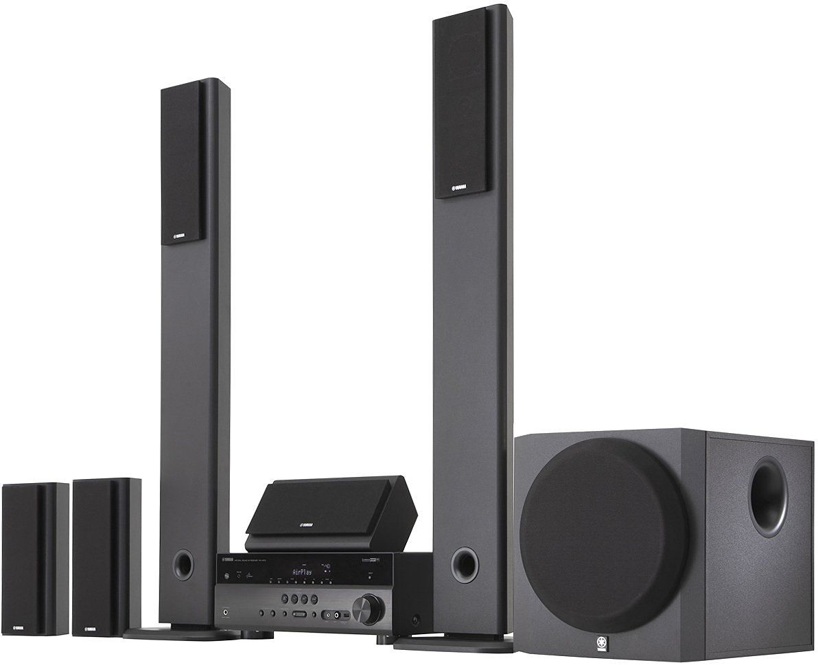 Yamaha home theater surround sound system on home theater for Yamaha home stereo systems