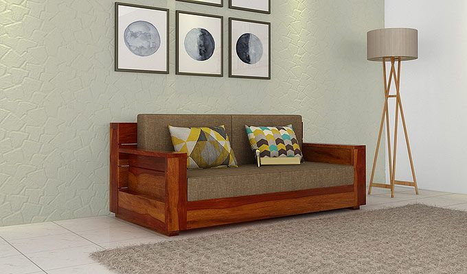 Shop Beautiful Looking 2 Seater Sofa Online To Create A Beautiful Living Space For Your Home Best Qu Living Room Sofa Design Wooden Sofa Designs 2 Seater Sofa