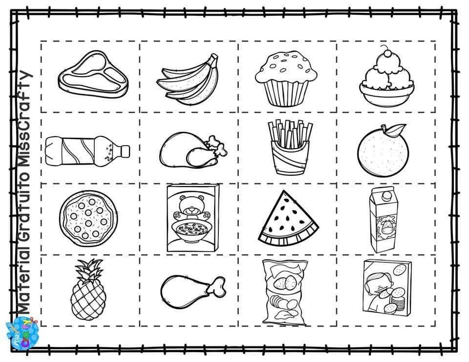 Pin De Hülya Solmaz Ince En Alimentación Vida Saludable Para Niños Alimentos Preescolar Dibujos De Comida Saludable