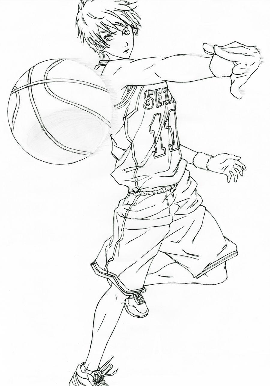 How to draw kuroko tetsuya really slick how to draw pinterest how to draw kuroko tetsuya really slick baditri Gallery