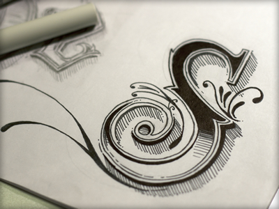 S Typography Lettering Design