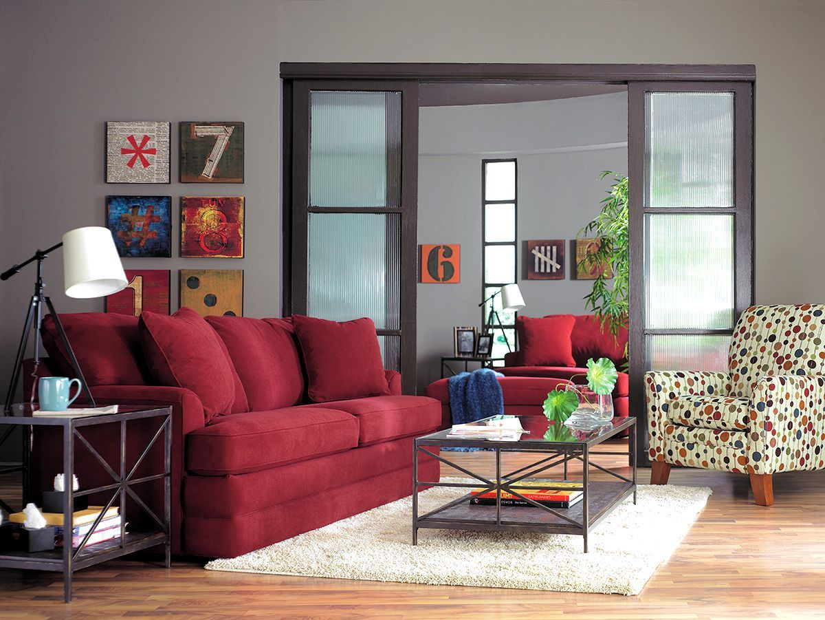 Best Red Couch Polka Dot Chair Cozinha Vermelha 400 x 300