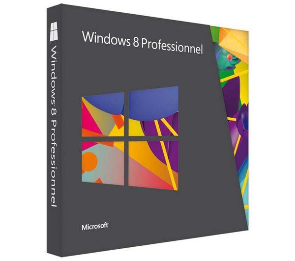 MICROSOFT Windows 8 Professionnel - mise à jour (depuis Windows 7 - spreadsheet free download windows 7 64 bit