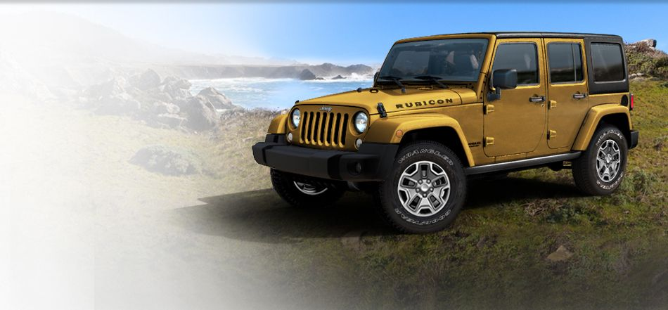 2014 Jeep Wrangler Unlimited OffRoad SUV with 4 Doors