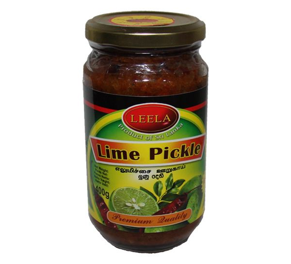 Leela Lime Pickle 400g (With images) Lime pickles, Lime