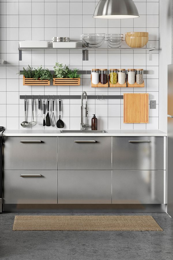 Need Extra Storage E In Your Kitchen Ikea Wall Like Rails Hooks Containers And Shelves Can Help To Keep All Tools