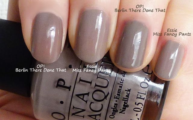 Opi Berlin There Done That Amp Essie Miss Fancy Pants