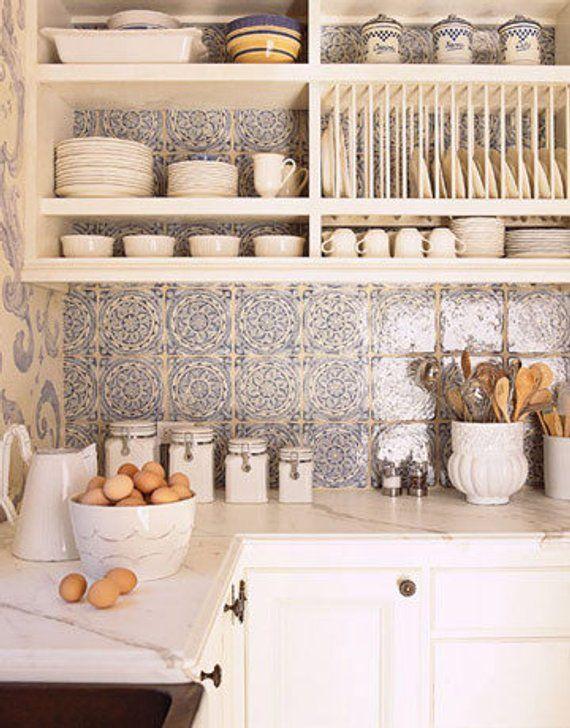 Open Kitchen Shelf Storage Dish Rack Plate Racks Pantry