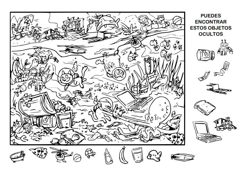 Dibujos Oculto 01 001 Hidden Pictures Printables Hidden Picture Puzzles Hidden Pictures