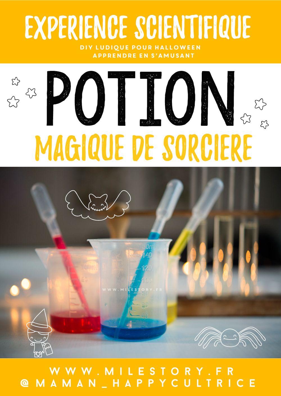 Recette potion magique sorcière