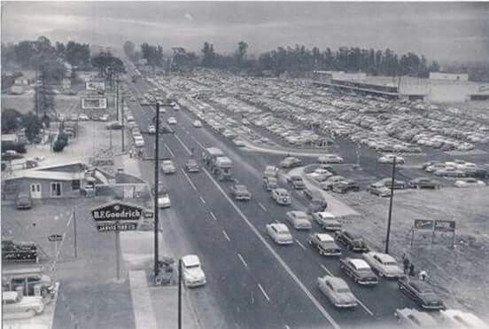 Holt Ave. in Pomona. Indian Hill Mall on the left.