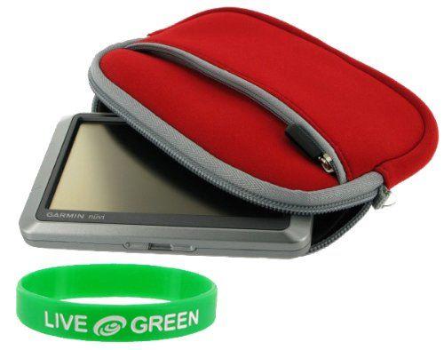 Save $ 6.1 order now Neoprene Sleeve Case (Red) TomTom XXL 540S 5-Inch GPS Navig