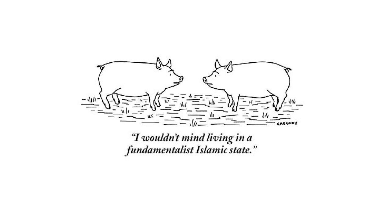 TED - Bob Mankoff\'s 10 favorite New Yorker cartoons,... | Vegetarian ...