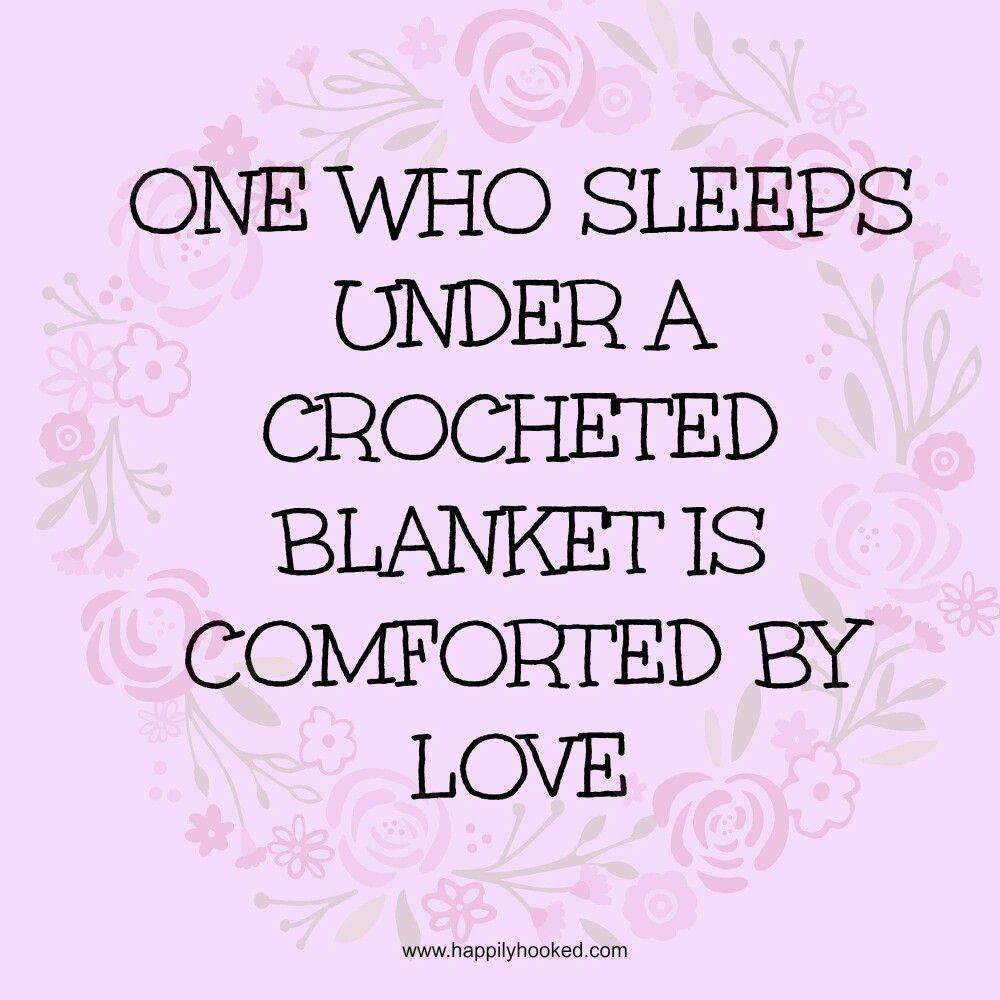 Crochet Blanket Quotes