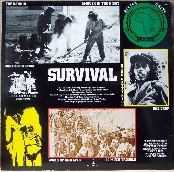 Bob Marley Survival Bob Marley Nesta Marley Marley