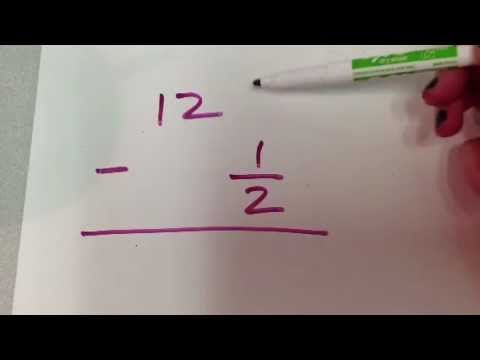30+ How to subtract whole numbers and fractions Most Effective