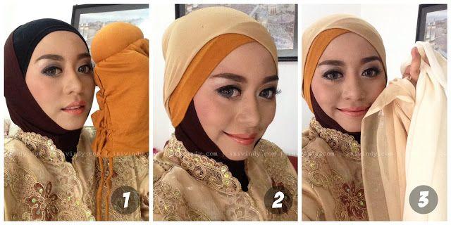 Tutorial Hijab Pesta Menutup Dadahijab Layer Glitter Tutorial With