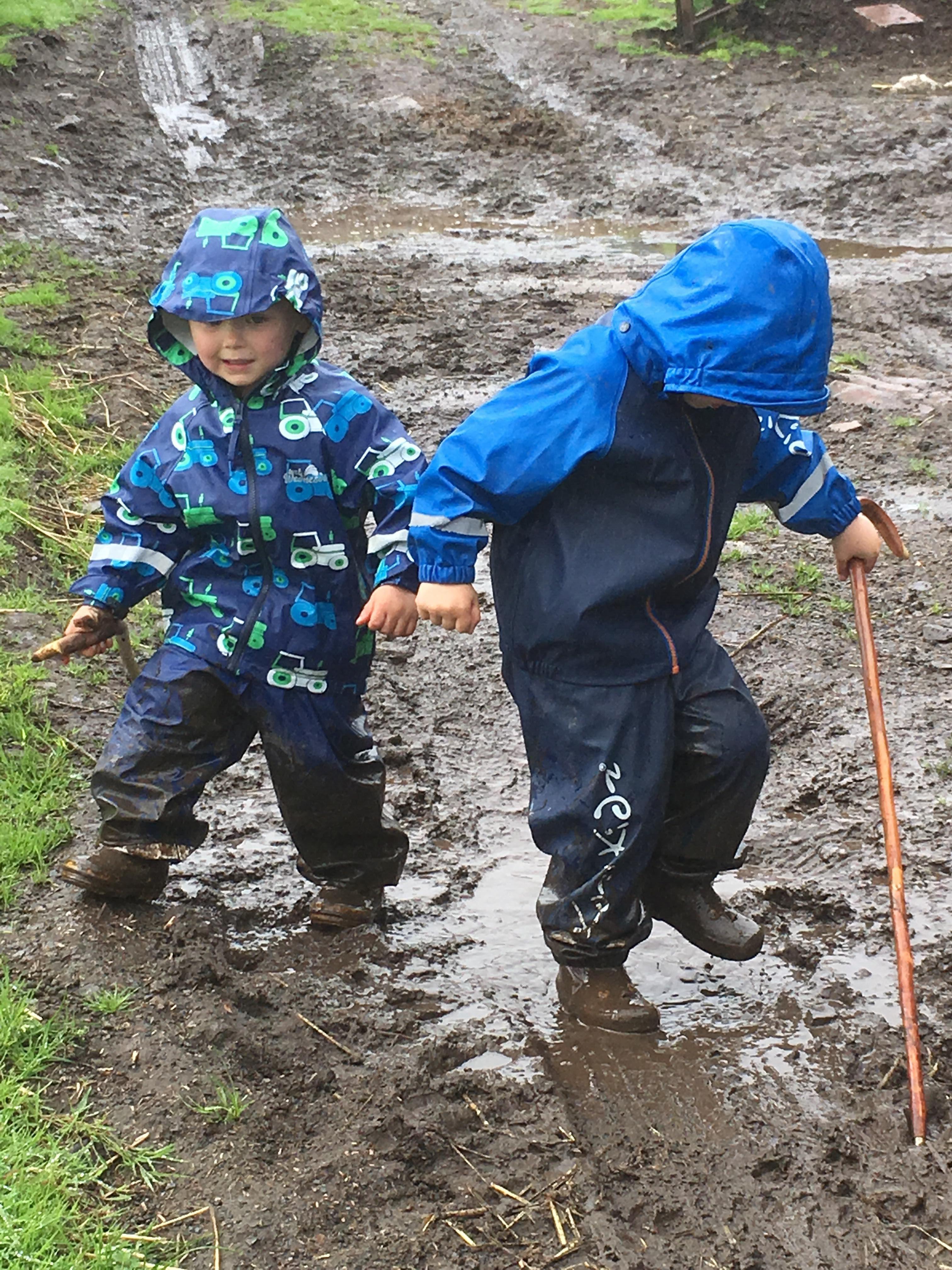 Kozi Kidz Girls Early Years Waterproof Rain Hat