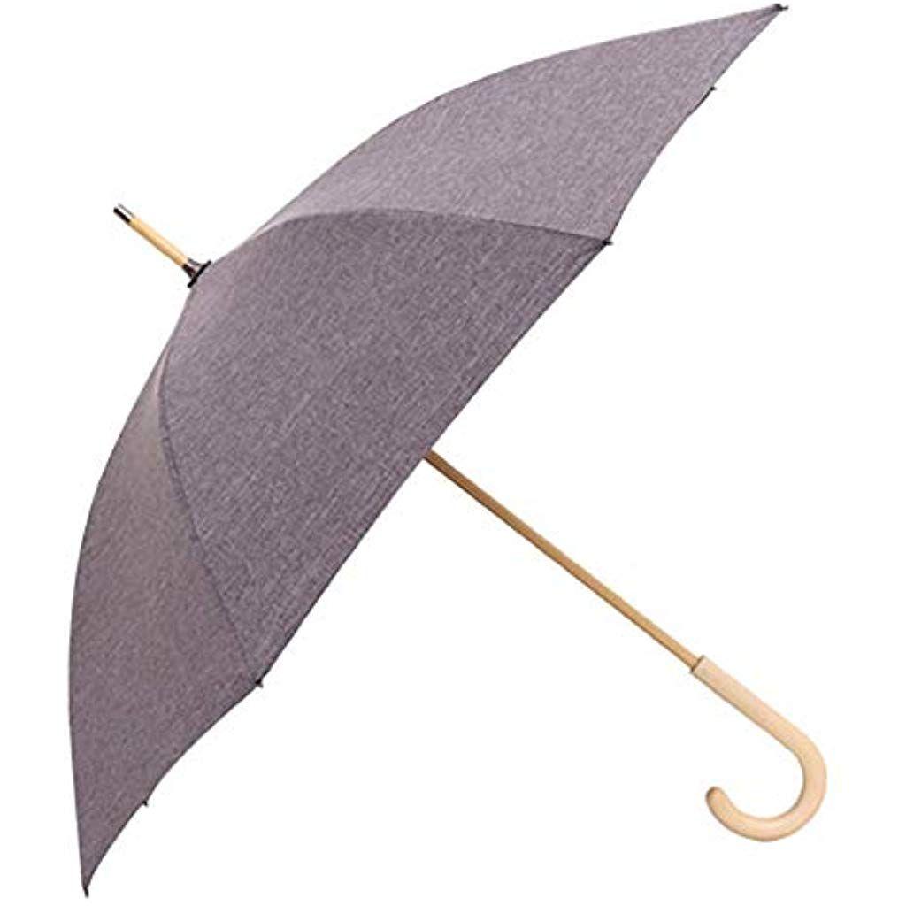 0de462a2f46f Long Umbrella Men Women Large Poplar Wooden Umbrellas Rain ...
