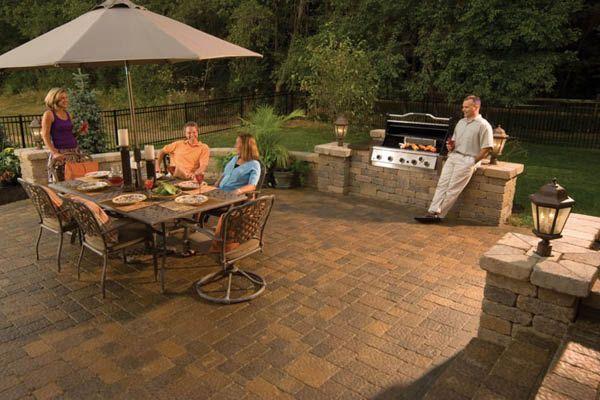 poured concrete patio design ideas Oberfields Inc - Ohio\u0027s Premier