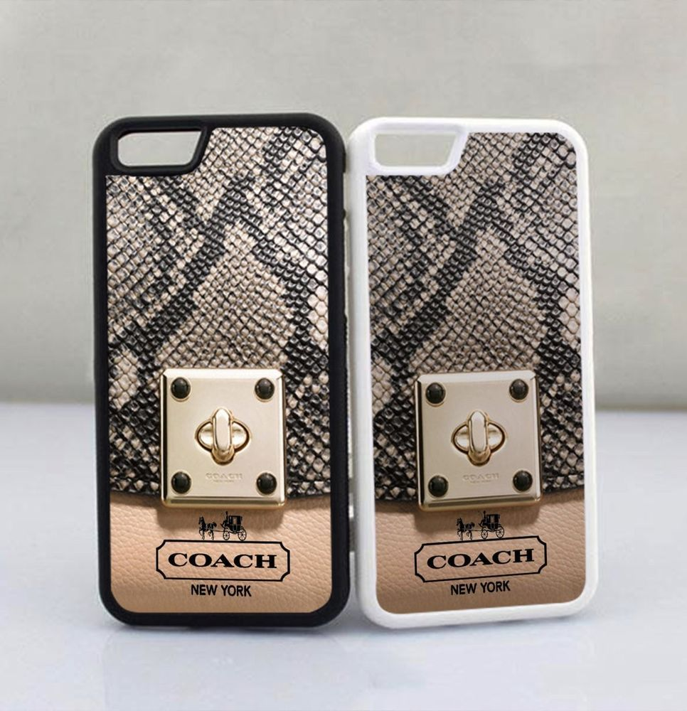 cozy fresh fb50c 4d5f9 Coach NY Bags Snake Skin Design Print On Hard Cover Case For iPhone ...